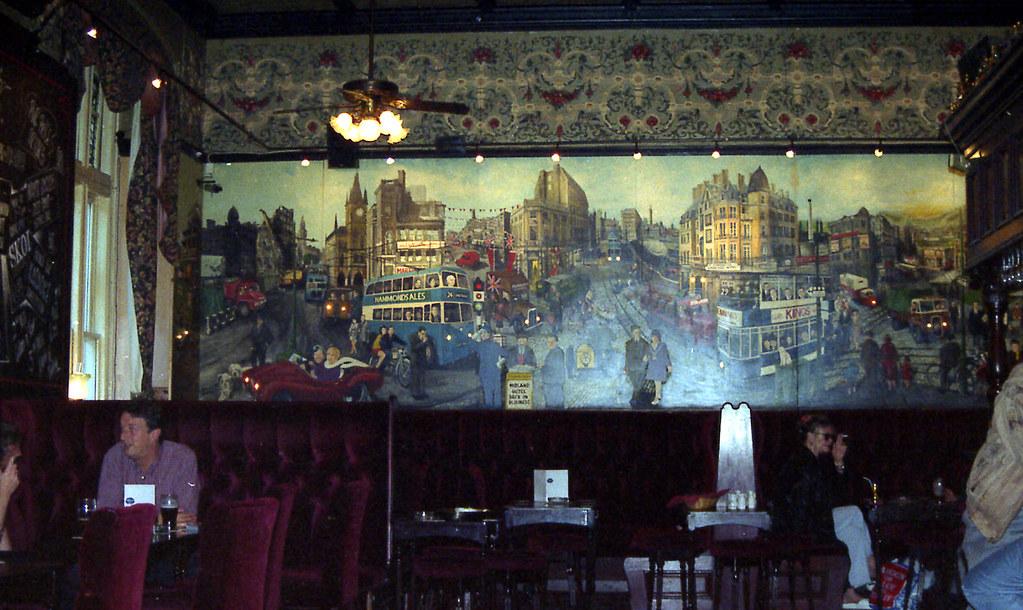 Wyks Mural In Bar Of Midland Hotel Bradford Jl Take A Go Flickr