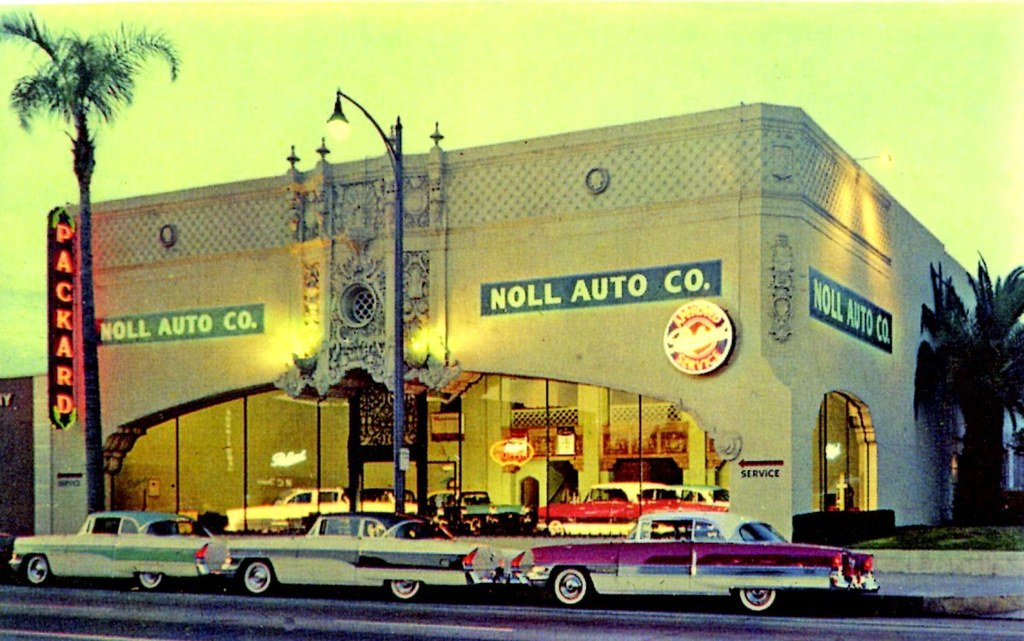 noll auto co packard pasadena ca 1956 1285 e colorado flickr. Black Bedroom Furniture Sets. Home Design Ideas