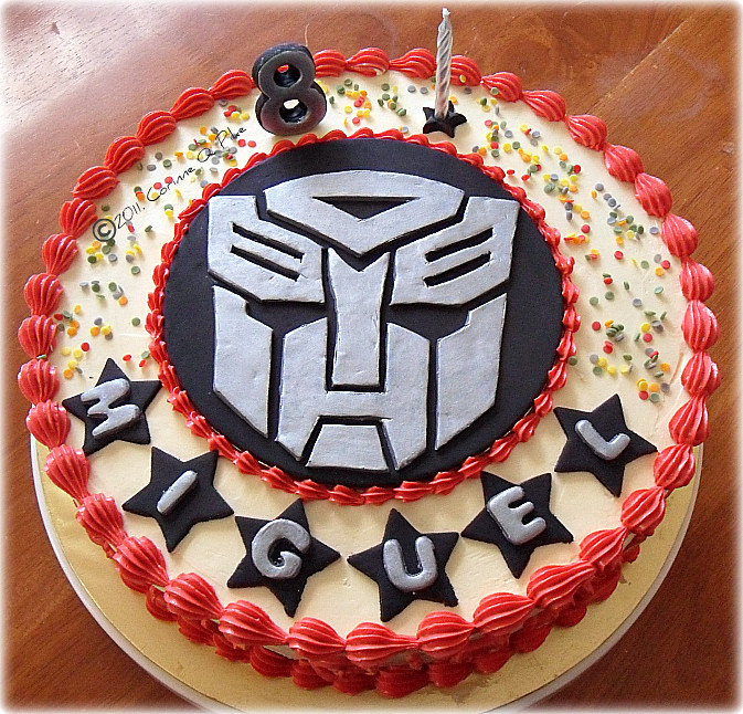 Transformers Birthday Cake Made this for an 8th birthday Flickr