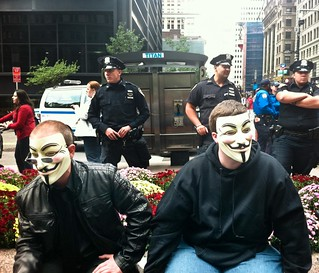 Occupy Wall Street | by androosh