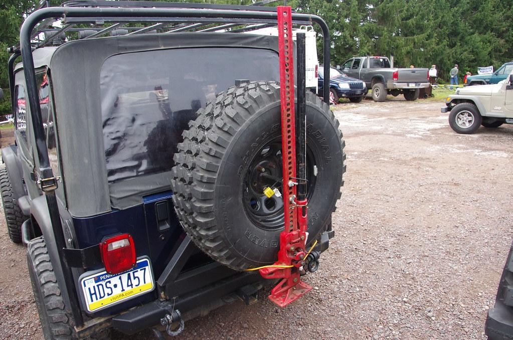 Hi Lift Jack Rear Tire Mount Jeff Daniel S Jeep Show