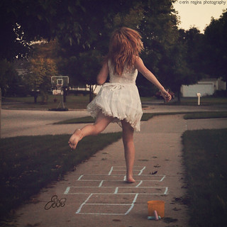 let's play hopscotch. | by erinreginaphotography