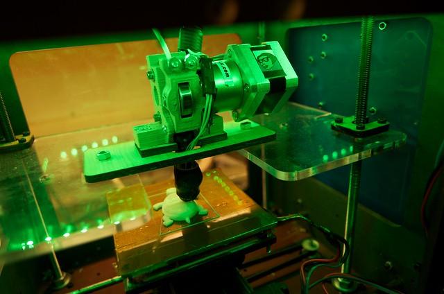 3D Printer at the Fab Lab
