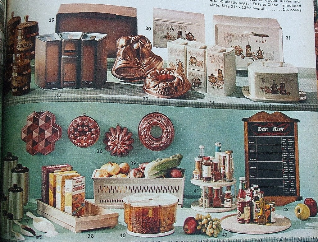 vintage 1960s kitchen decor. Black Bedroom Furniture Sets. Home Design Ideas