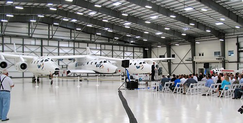 TSC Hanger Dedication - FAITH. Photo By Richard Weston Smith | by Virgin Galactic