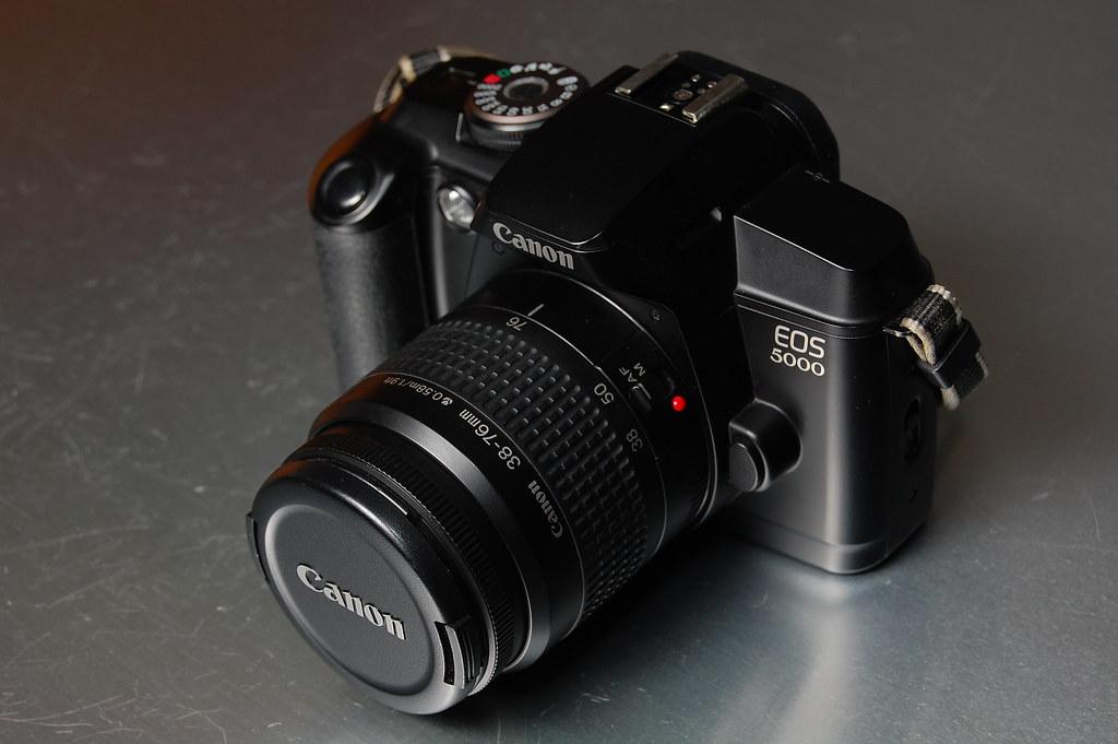 Canon Eos 5000 Canon Eos 5000 1995 35mm Focal Plane