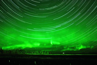 Startrails Northern Lights Sept 29 | by Astroturner