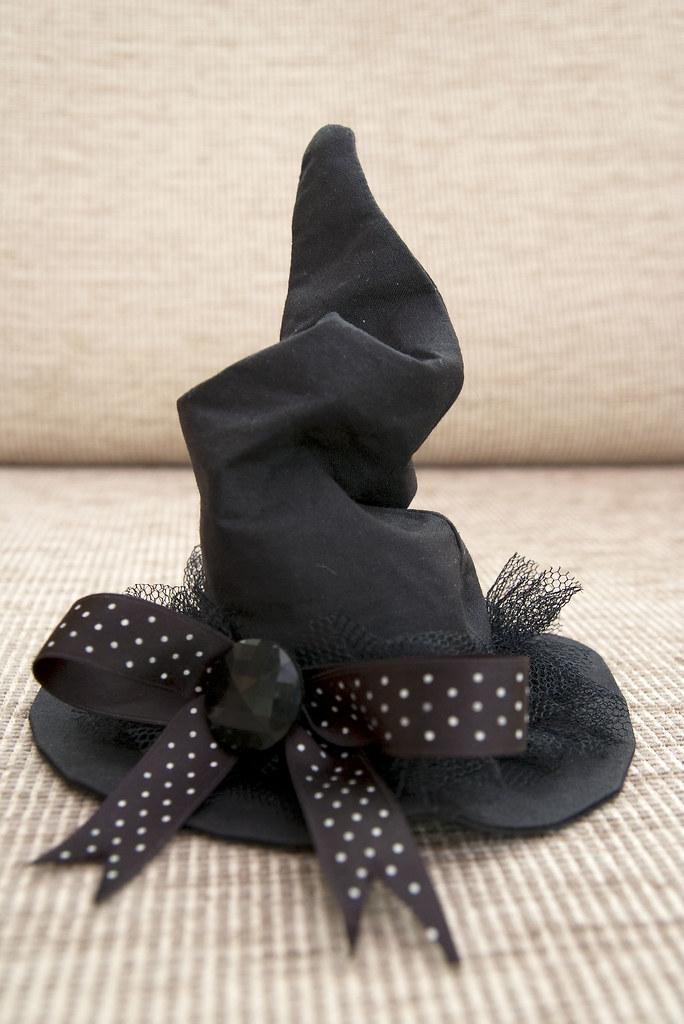 ... Miniature Witch Hat Fascinator  c06c7f773b3