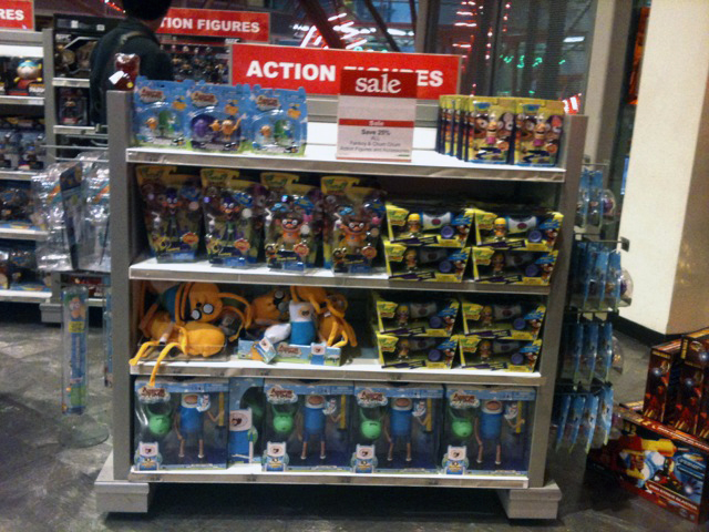 Adventure TIme & Fanboy and Chum Chum @ Toys'R'Us | Toy'R ...