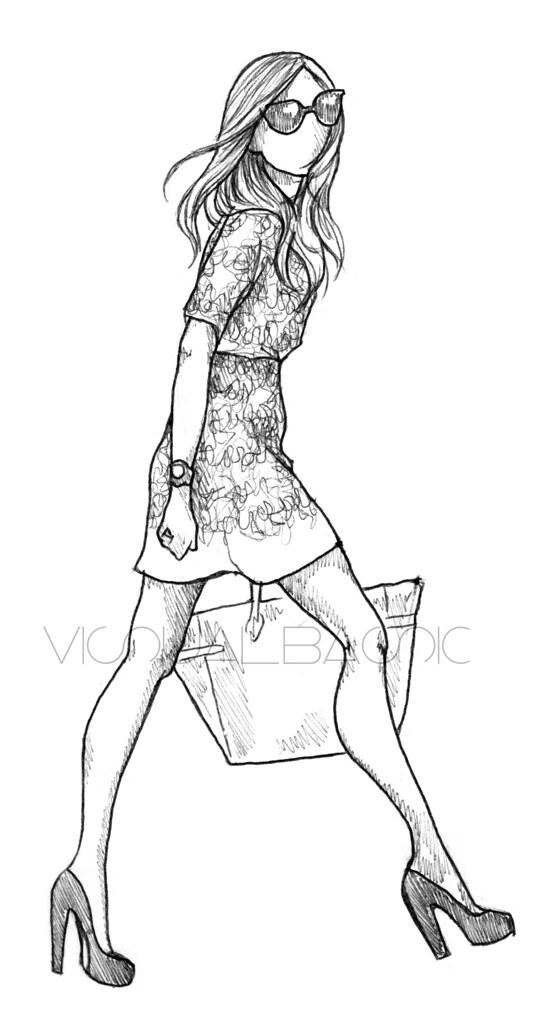 Draw Fashion Design Models