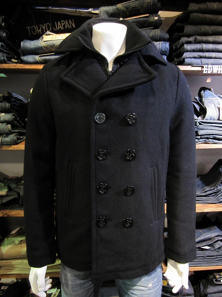 Schott Pea Coat | Genius | Flickr