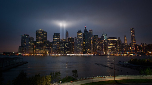 9/11/2011: Manhattan via the Brooklyn Promenade | by alanjmcgee