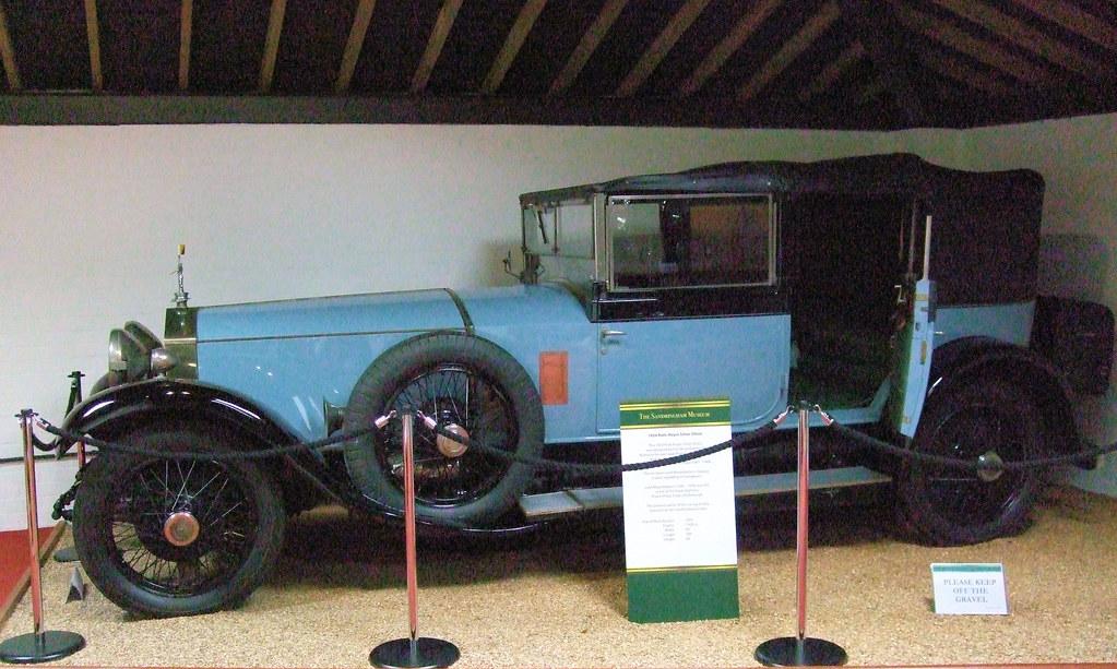 Sandringham Museum Cars 1924 Rolls Royce Silver Ghost Car Sandringham Museum Norfolk