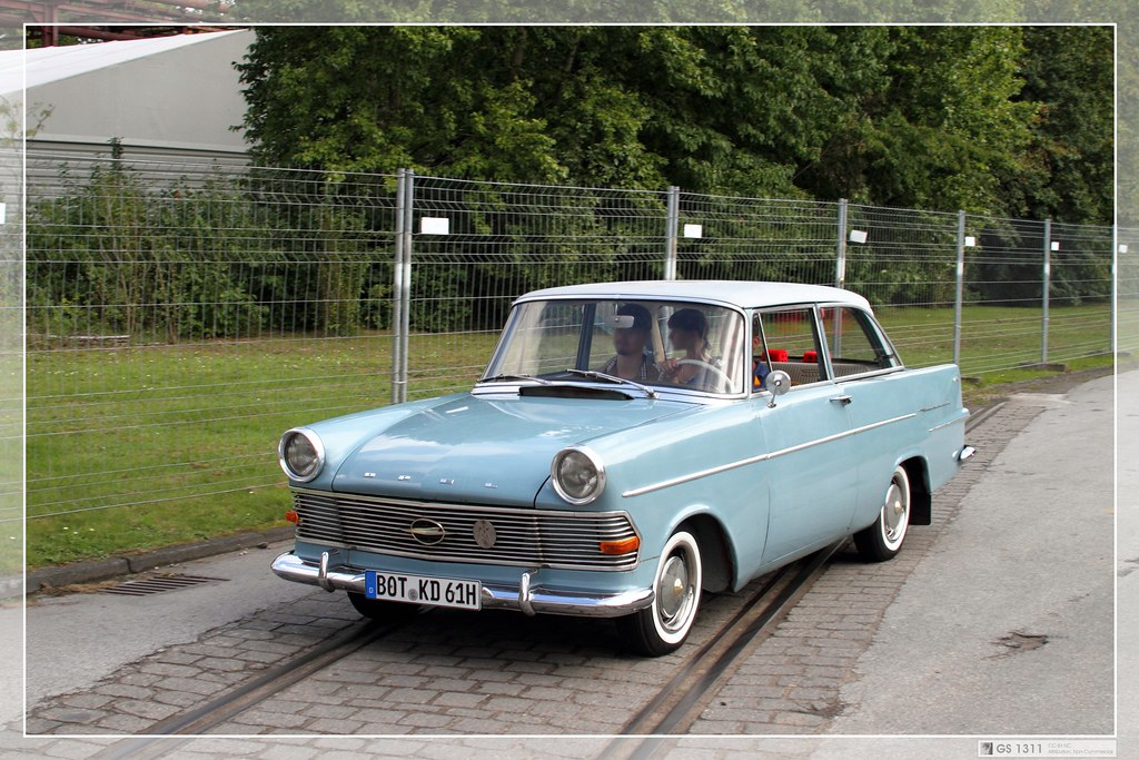 1960 Opel Rekord P2 09 The Rekord P Ii Grew In Size