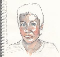 Marion Lokin for Julia Kay's Portrait Party by Joan Ramon Farré Burzuri