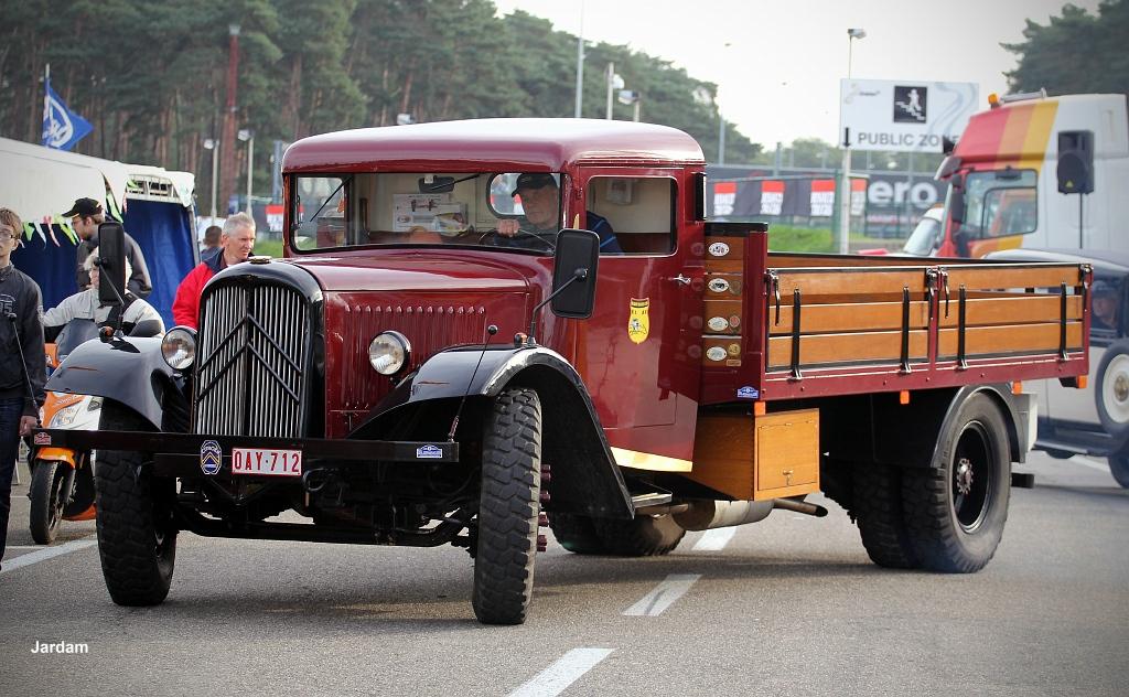 New Chevy Trucks >> Oldtimer Citroën Truck | 2011_09_17 Zolder Truck Grand Prix | Flickr