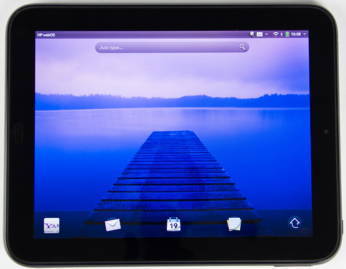 HP Touchpad Horizontal | by kenteegardin