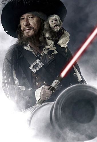 pirate_barbossa_lightsabre | by hoyden about town