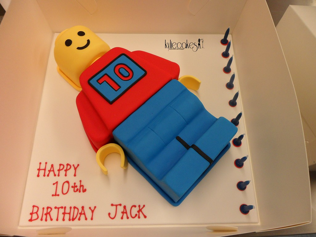 Lego Man Birthday Cake Pan