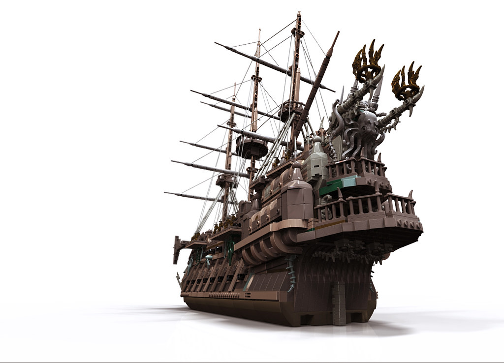 flying dutchman for potc game renders of my design for. Black Bedroom Furniture Sets. Home Design Ideas