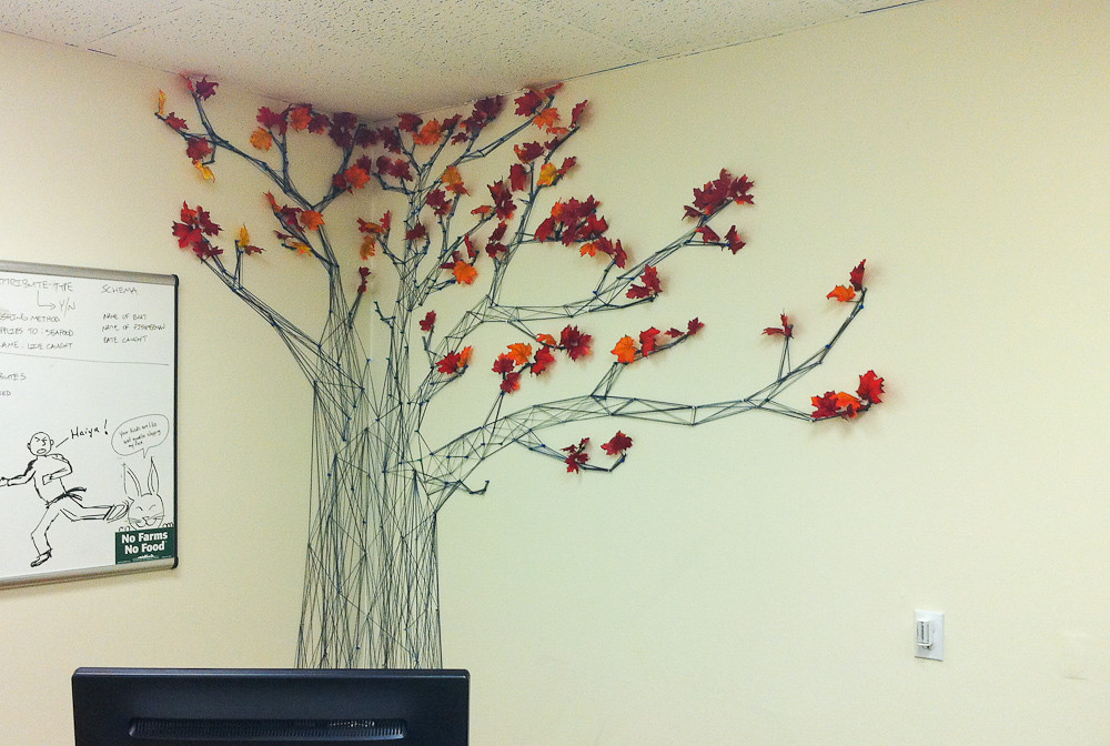 ... Yarn Tree   Foodtree Office | By Rachael Ashe