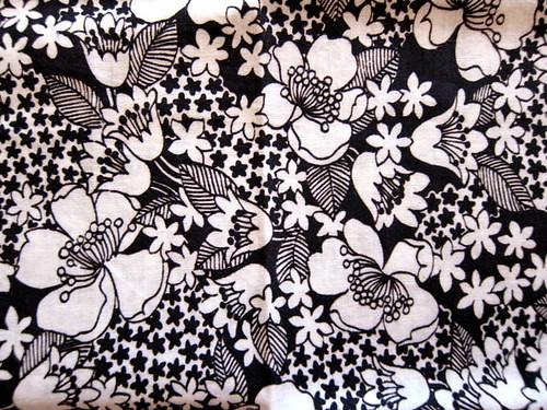 black and white floral vintage print | blempgorf | Flickr