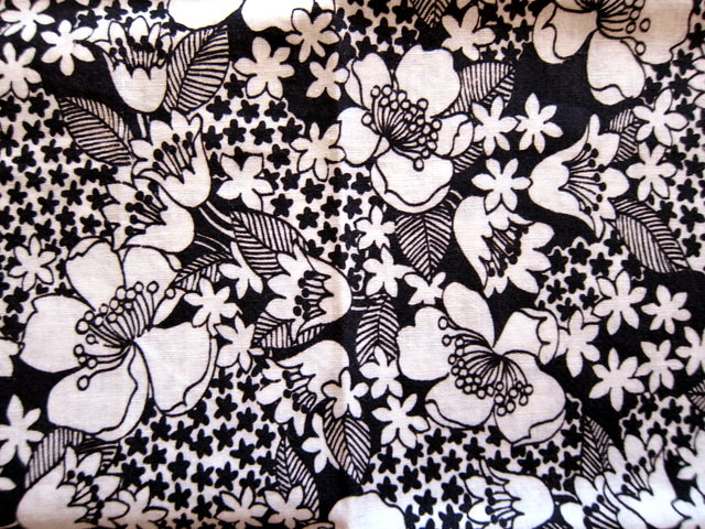 Black and white floral vintage print blempgorf flickr black and white floral vintage print by blempgorf mightylinksfo