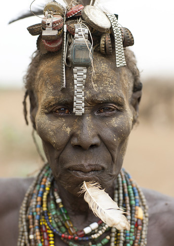 Dassanetch old woman - Ethiopia | by Eric Lafforgue