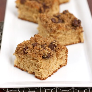 Peanut Butter Chocolate Chip Coffee Cake | by Tracey's Culinary Adventures