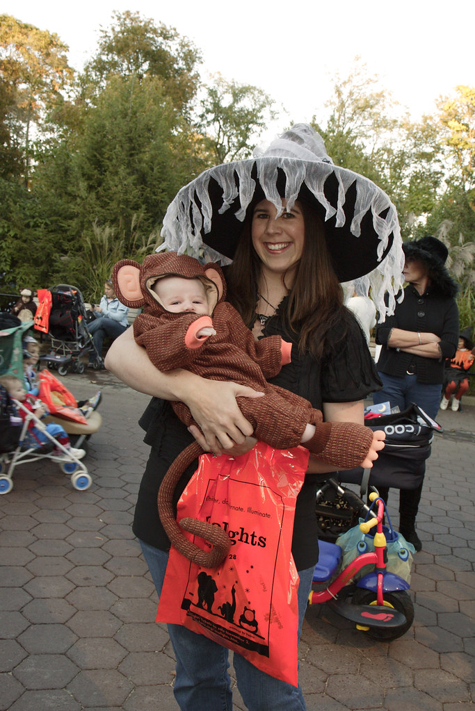 costumed baby at boo at the zoo by smithsonians national zoo