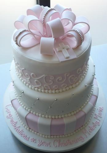 Cake Decorations Christening Girl