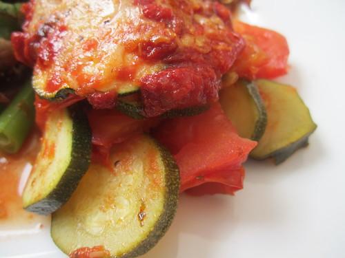 Tomato courgette gruy re gratin we 39 re still for Courgette and tomato bake bbc