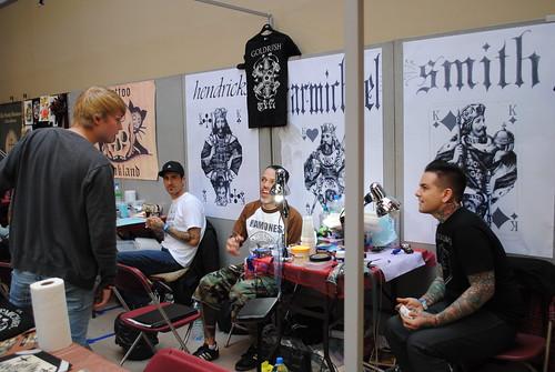 tim hendricks miami ink goldrush tattoo saltwater tatto flickr. Black Bedroom Furniture Sets. Home Design Ideas
