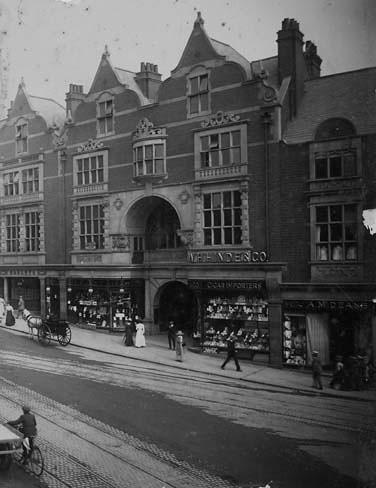 Queen's Arcade, Wolverhampton, in the collection of Wolverhampton Archives and Local Studies.