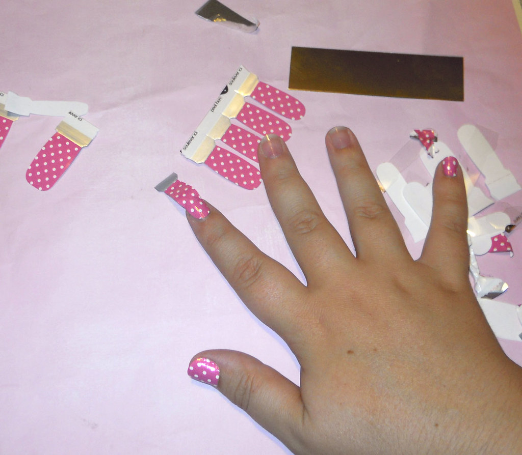 Nail polish stickers | by Kira83 Nail polish stickers | by Kira83