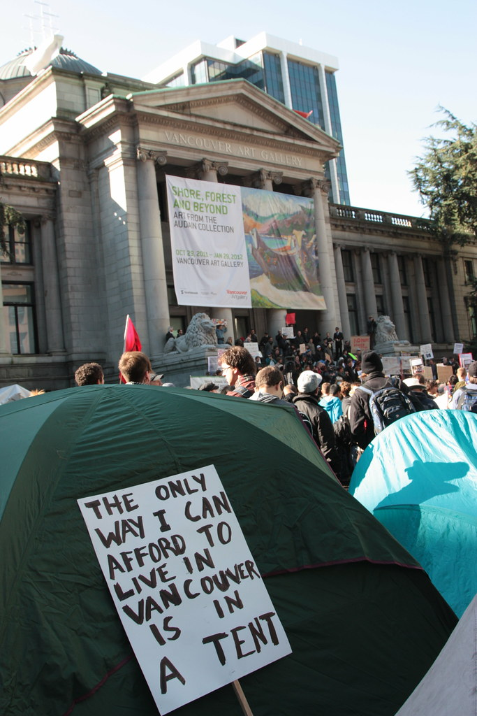 ... Occupy Vancouver - tent | by ouno design & Occupy Vancouver - tent |