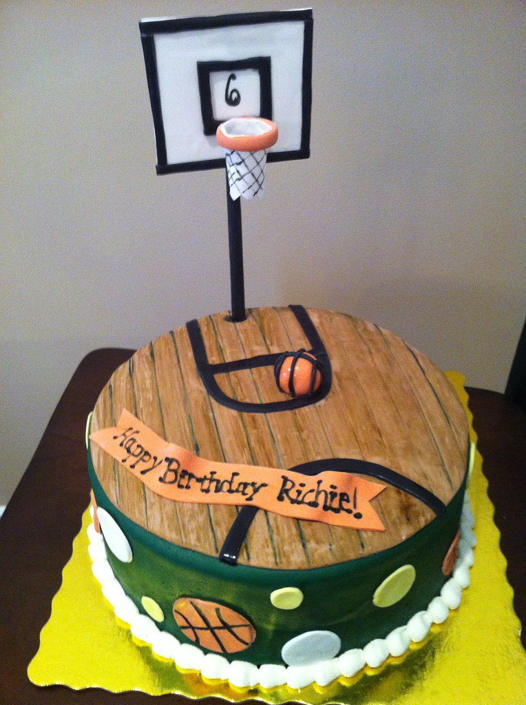 Basketball Court Cake Images : Basketball Court Cake Quaile Cakes Flickr