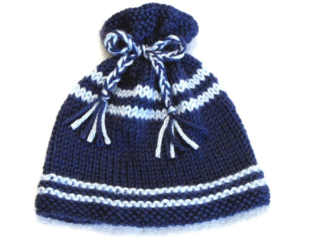 KNITTING PATTERN, Newborn - EZ Knit Baby Hat Pattern - Gre…   Flickr
