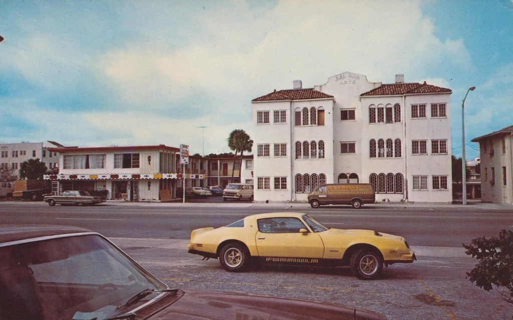 Del Mar Motel and Apartments - Daytona Beach, Florida