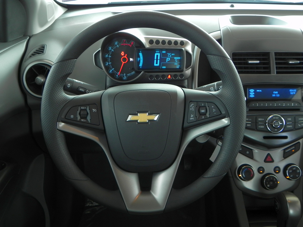 2012 Chevy Sonic Interior | Peltier Chevrolet | Flickr