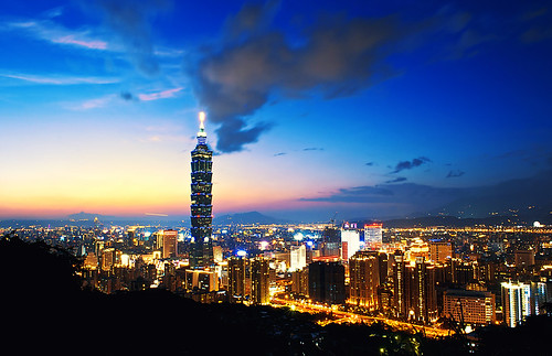 Taipei 101 at blue hour | by urbaguilera