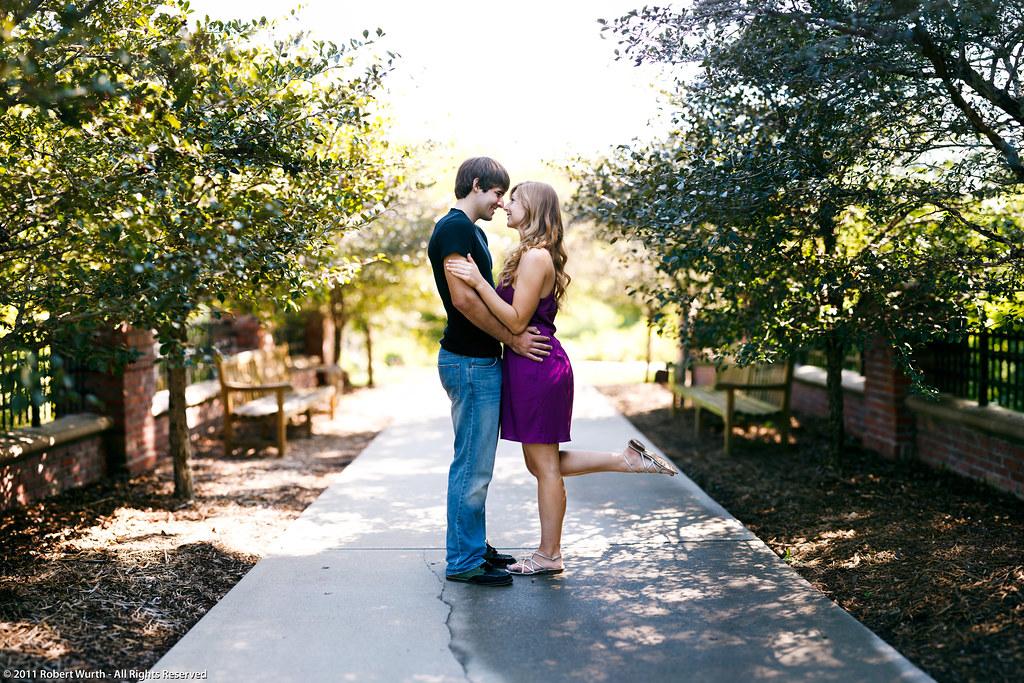 ... Engagement Session, Lauritzen Gardens In Omaha, Nebraska | By Robert