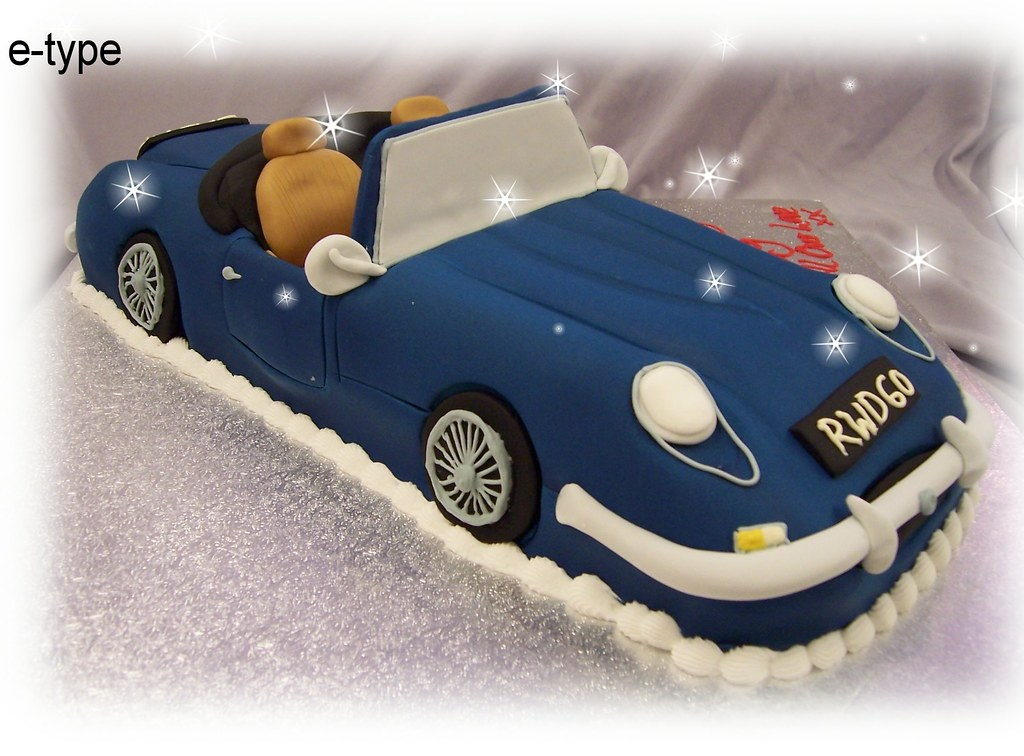 e-type jaguar cake | the cake box maypole | Flickr
