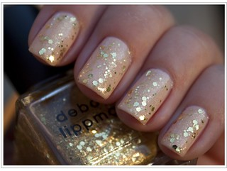 "Glitter Nails - Debra Lippman ""Boom Pow"" Polish 