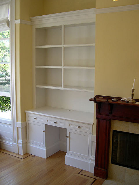 built in bookcase with desk custom cabinets trim carpent flickr rh flickr com Built in Wall Cabinet Designs Built in Wall Cabinet Designs