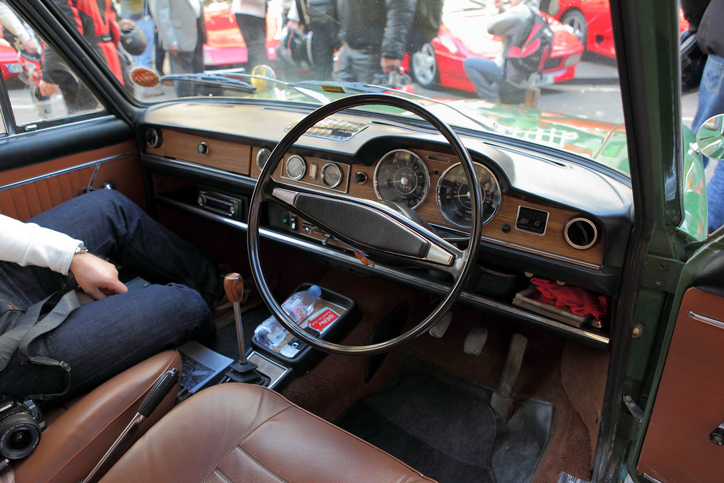 Fiat 125 Berlina Interior Amp Dash C1969 1600cc Straight