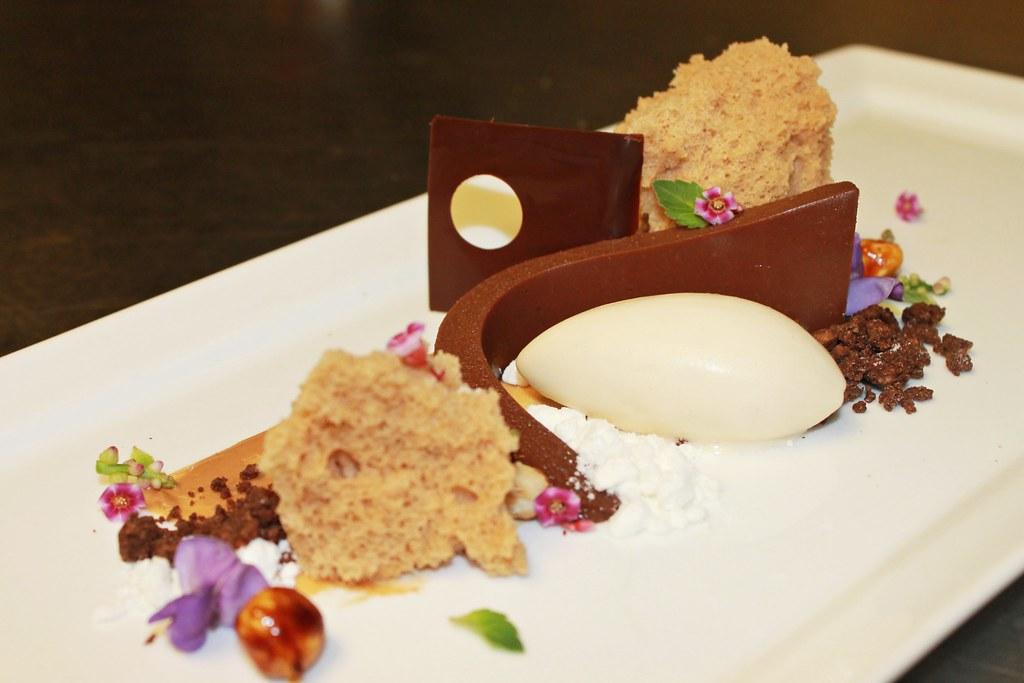 White Chocolate Hazelnut Cake