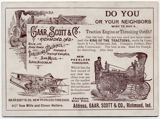Do You Wish to Buy a Traction Engine? (Back) | by Alan Mays