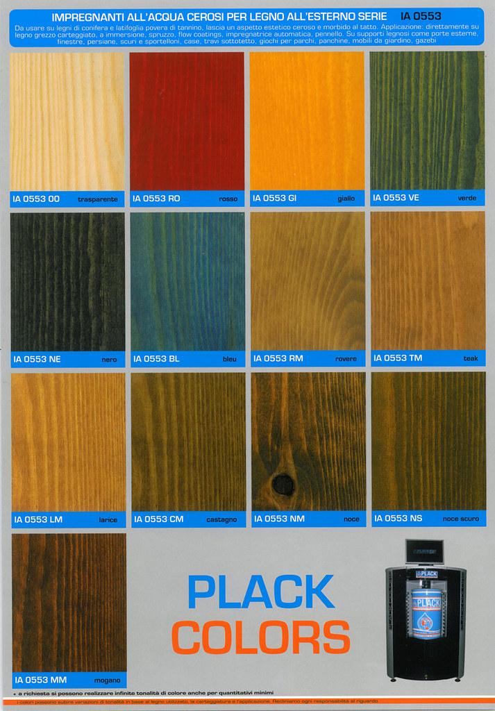 Cartella colori impregnanti cerosi allacqua per legno ia …  Flickr