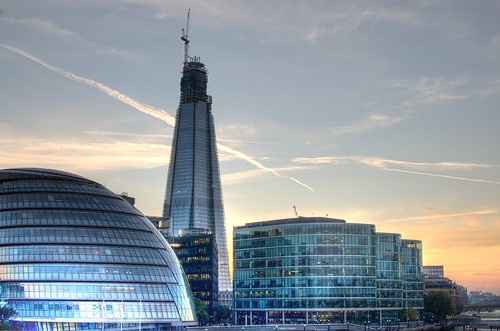 London Shard and City Hall | by npmeijer